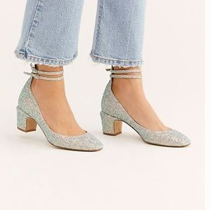 Glitter Lana Block Heel Free People